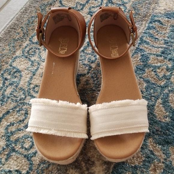 Women/'s Tessa Platform Wedge Sandal